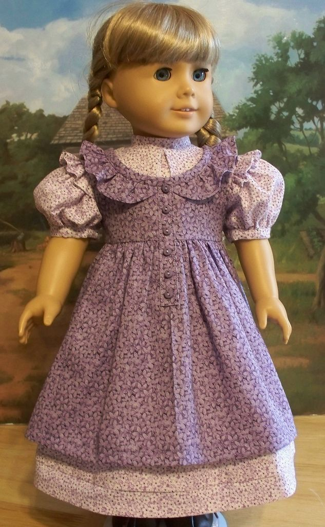 All sizes | Summer lavender Dress and Prairie Pinafore made for Kirsten | Flickr - Photo Sharing!