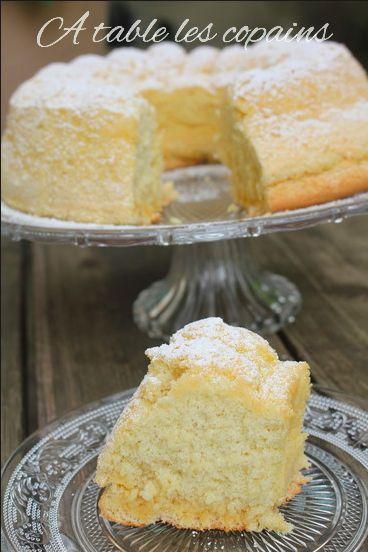Le très moelleux gâteau de Savoie