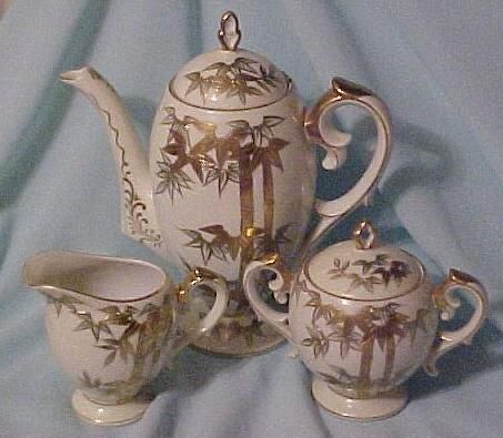 Craftsman China (Japan) Coffee or Tea Service (Pot, Creamer and from howstrange on Ruby Lane
