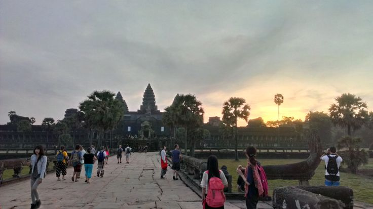 Sunrise at Angkor Wat. Siem Reap, Cambodia.