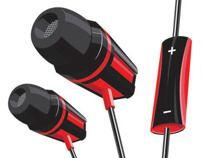 Illustration Vector design Product: Basic earphone Company: JMK IT Komputindo - Indonesia