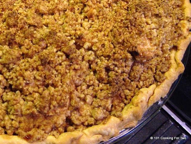 ... For Two - Everyday Recipes for Two: Really Easy Apple Crumb Pie