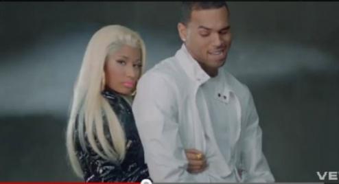 HOT VID: Nicki Minaj -- 'Right By My Side' ft. Chris Brown
