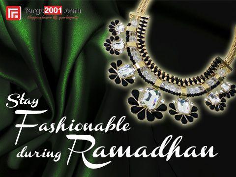 "Tetaplah ""Fashionable"" di bulan Ramadhan dengan pilihan Aksesoris Fashion di Fargo2001.com ! http://fargo2001.com/fashion-299/wanita-314/accessories-300"