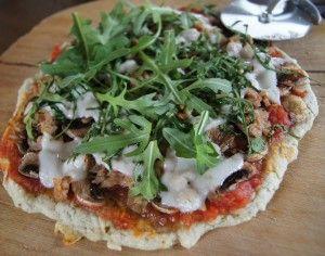 Zelf gezonde glutenvrije Pizza maken - Focus on Foodies