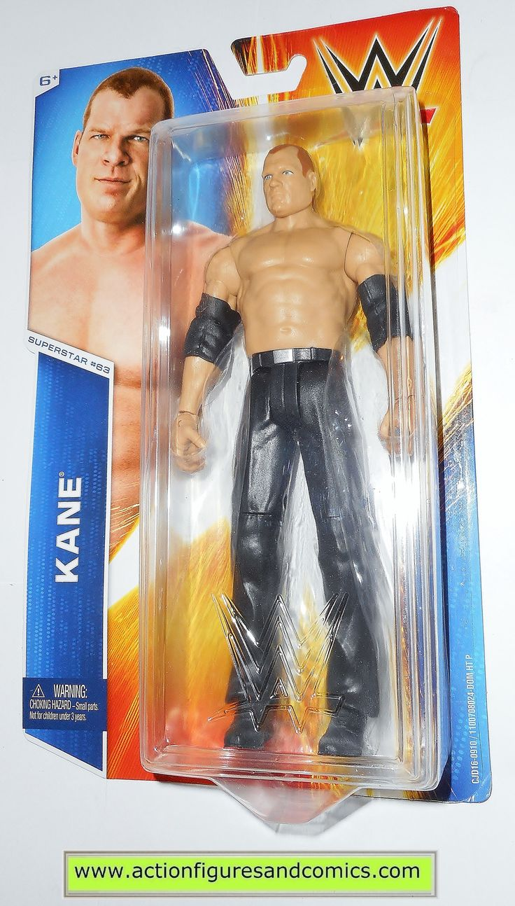 Wrestling WWE KANE superstar 63 basic 2014 mattel toy action figures moc mip mib