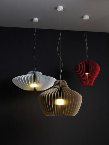 Lamella Pendant Light