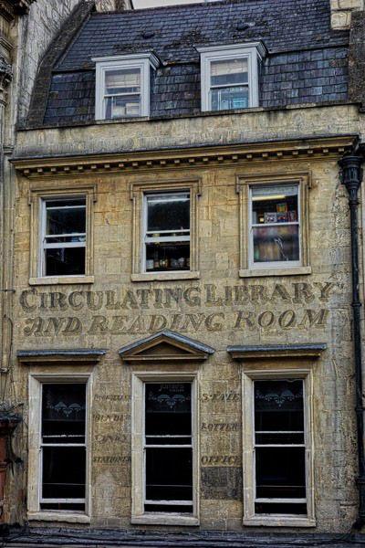 Circulating Library, Bath. Regency EraNice ...