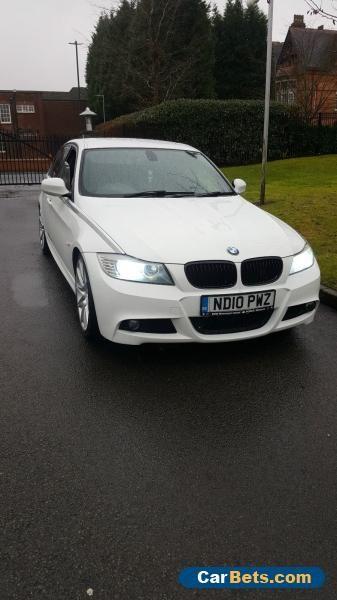 2010 BMW 320D EFFICIENTDYNAMICS WHITE - LCI MSport - 2 Prev owners. #bmw #320defficientdynamics #forsale #unitedkingdom