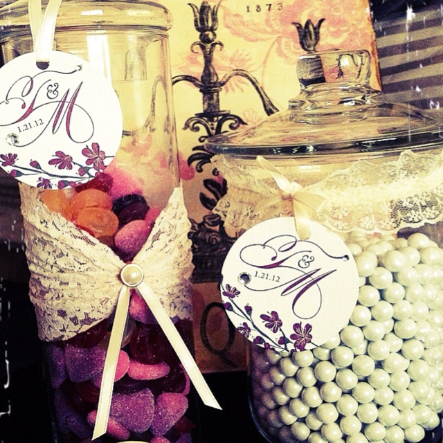 Vintage candy bar design!  By: PNKplanning