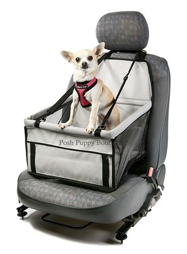 Car Seat Dog Cradle- Travel and Safety- Car Seats Posh Puppy Boutique- AS SOMEONE WHO TRAVELS IN THE CAR WITH MY BABY ALL THE TIME, THIS WOULD BE PERFECT FOR THE ULTIMATE SUMMER ROAD TRIP!