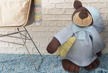 Urso Fred dorminhoco