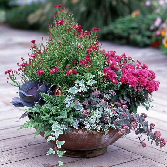 29 Beautiful Container Gardens