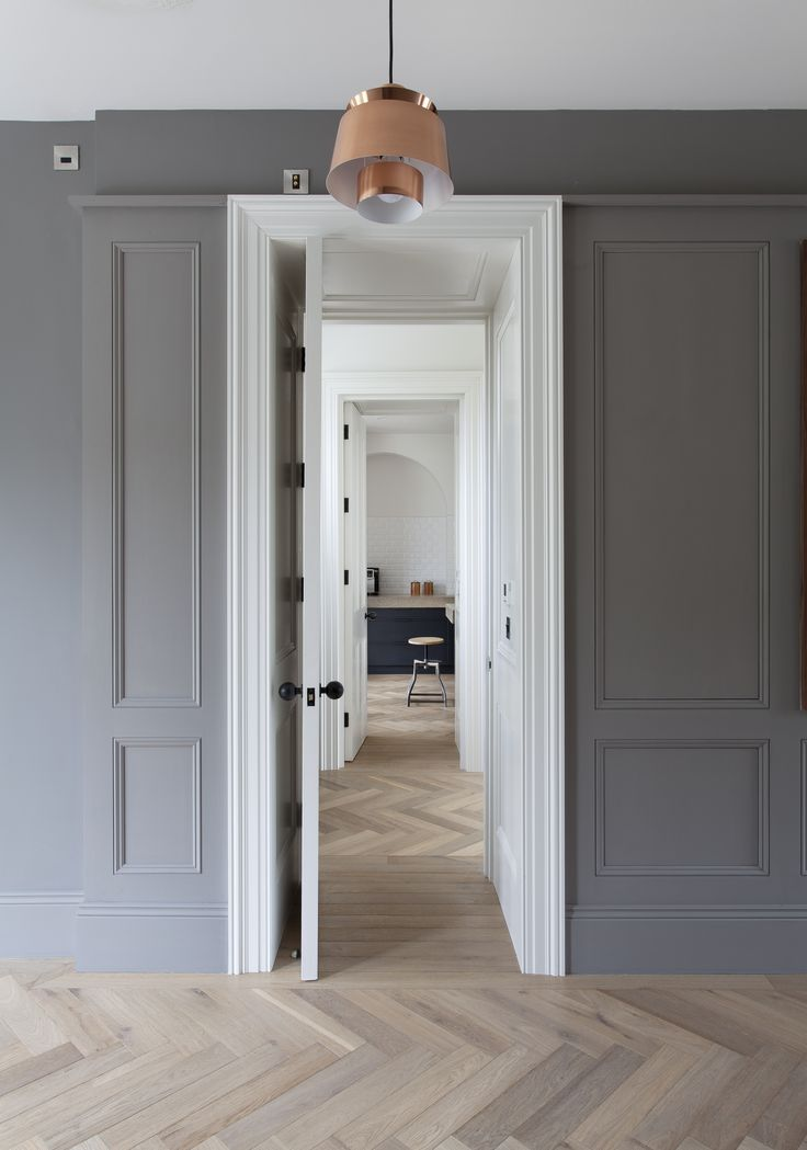 French Oak Herringbone, featured in Beautiful Irish Interiors Spring/Summer…