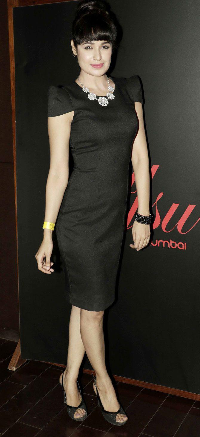 Yuvika Choudhary at a party for DJ Afrojack. #Bollywood #Fashion #Style #Beauty #Sexy #Hot
