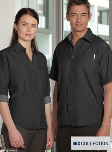 Healthcare Shirts : Ladies 3qtr Contrast Oasis Shirt - Uniforms