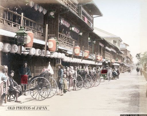 1880年代 大阪 松島遊郭