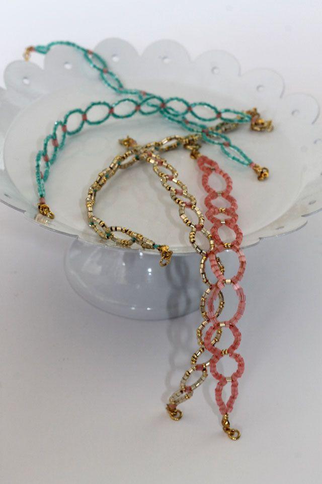 DIY - Samenkorn Kreis Armband