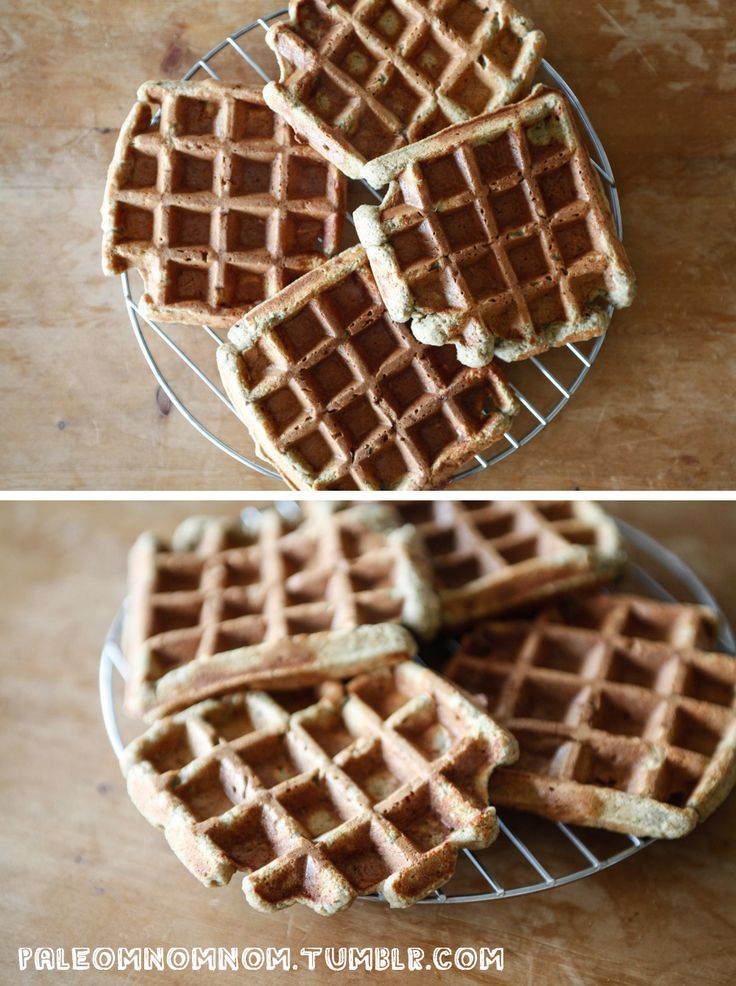 Une recette de Gaufres Paléo! <3  // Ingrédients //  - 1 pomme - 1 banane - 2 oeufs - 1cc de bicarbonate de soude alimentaire - 1cs de crème de pépins de courge ou crème de noisettes ou beurre de cacahuète ou… etc. Ce que vous voulez! - 20g de beurre fondu ou d'huile de coco - 2 petites poignées de graines de tournesol - 100g de farine de châtaignes  // Modus Operandi //  Dans un zoumzooum/blender/robot ménager, mélangez tous les ingrédients à l'exception de la farine et des graines de…