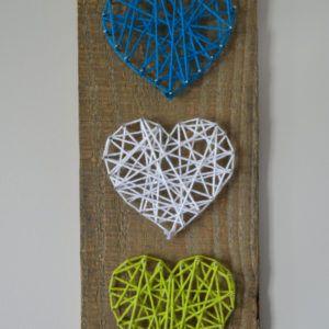 string art coeur