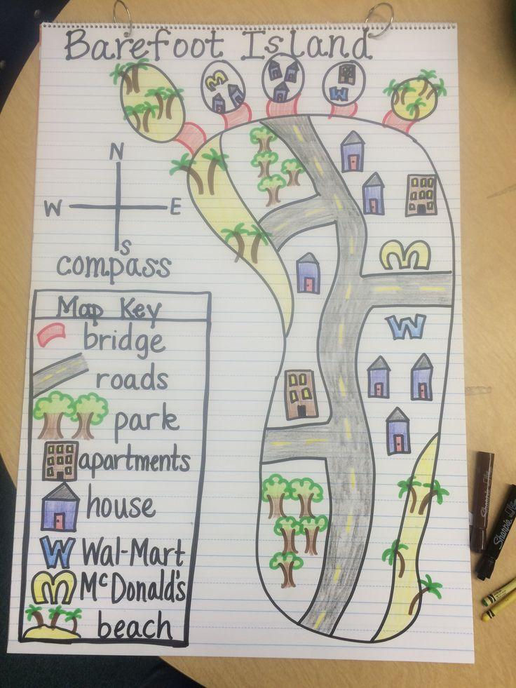 Barefoot Island-Map Skills | SS-Unit 2 | Teaching maps ...