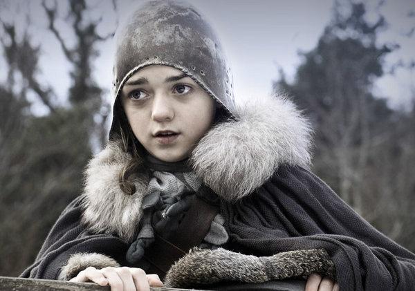 Game of Thrones -- love Arya!