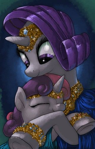 My Little Pony Friendship is Magic images Rarity and Sweetie Belle ...