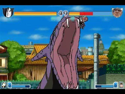 Bleach vs Naruto 2.6 - Orochimaru vs Killer B - HD