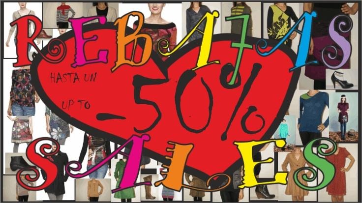 Rebajas hasta un 50%