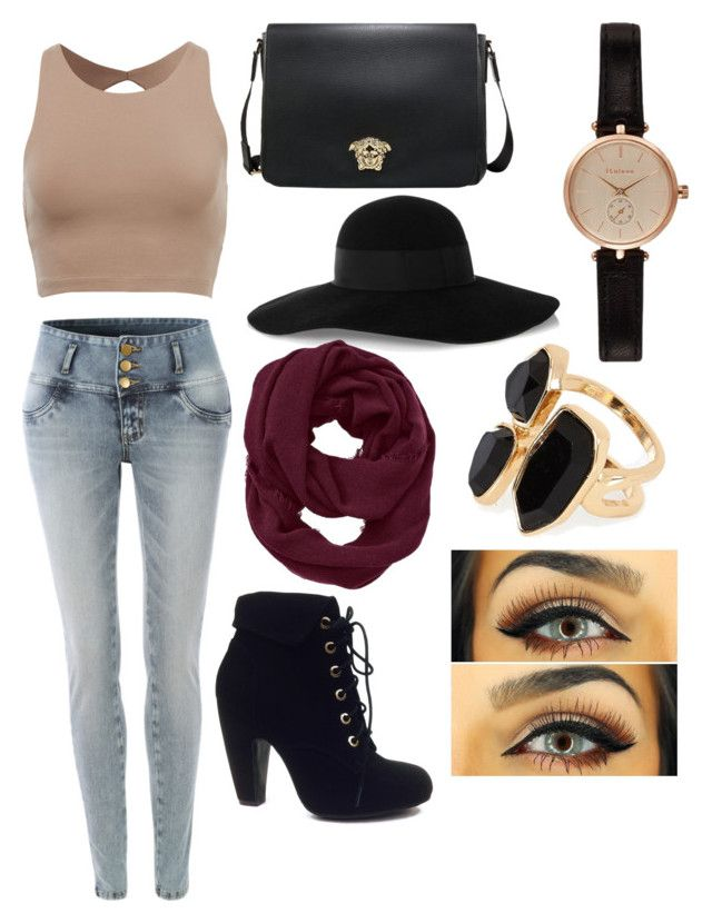 """""""Southbank"""" by hannahlee01 on Polyvore featuring LE3NO, Bamboo, Eugenia Kim, Athleta, Barbour and River Island"""