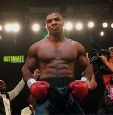 Iron Mike Tyson, boxing legend, one of the best athletes of all time.