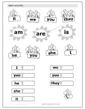 Resultado de imagen de verb to be for kids