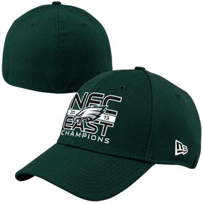New Era Philadelphia Eagles 2013 NFC East Division Champions 39THIRTY Flex Hat