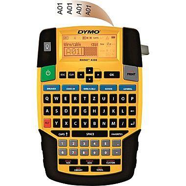 DYMO® Rhino 4200 Industrial Labeller