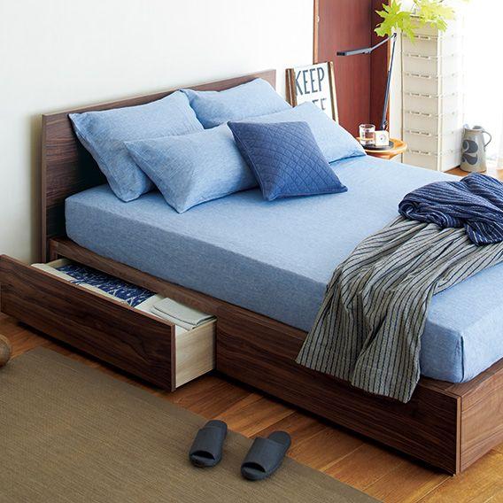 収納ベッド   無印良品ネットストア