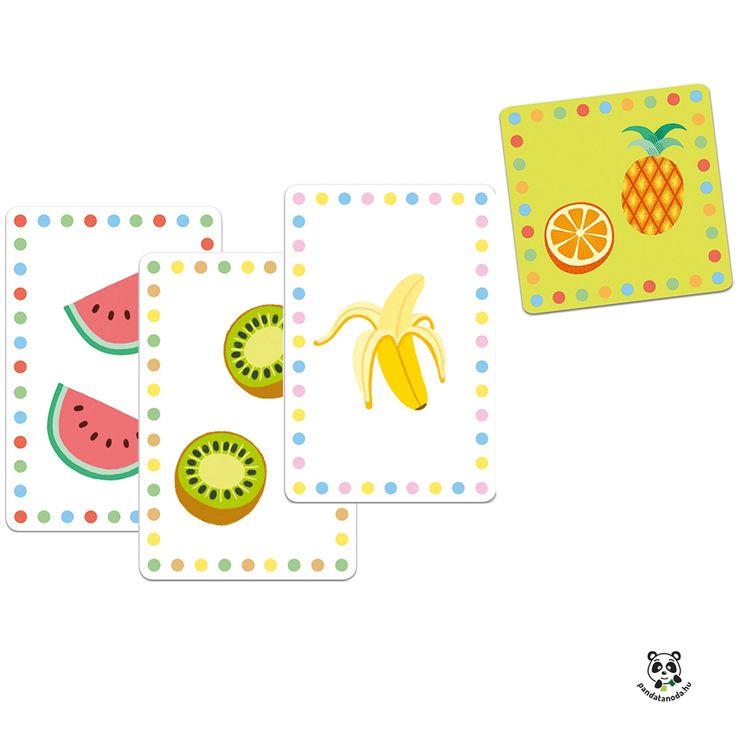 Smoothie memória, taktikai kártyajáték frissítő gyümölcsökkel Djeco ÚJ! | Pandatanoda.hu Játék webáruház