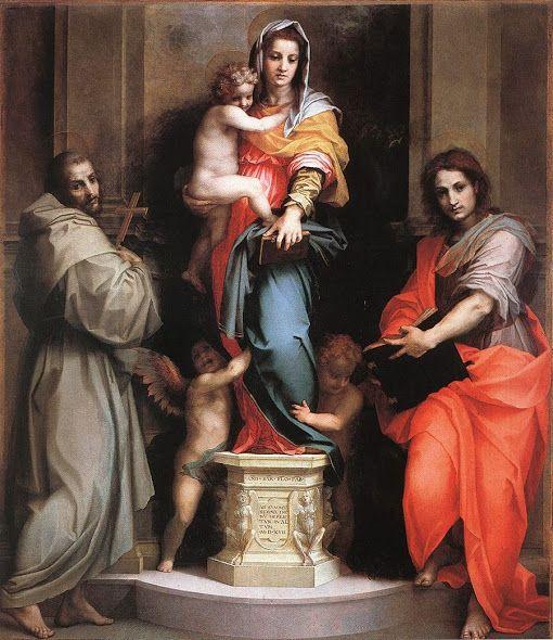 Madonna delle Arpie (1517; Firenze, Uffizi)