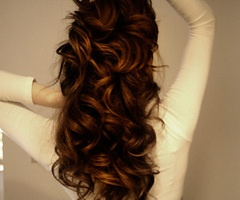 : Hairstyles, Hairdos, Hair Styles, Long Hair, Hair Do, Curls, Beautiful Hair, Pretty Hair, Curly Hair