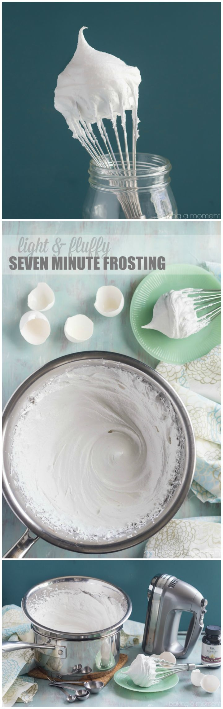 Seven Minute Frosting and a Giveaway