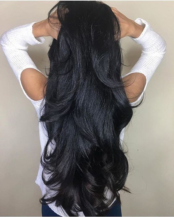 Like what you see? Follow me for more: @uhairofficial brazilian body wave virgin human hair extensions