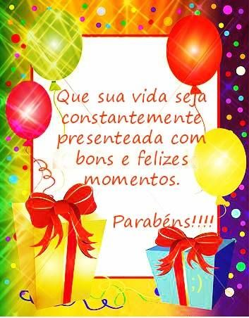 Que sua vida seja contantemente presentada com bons e felizes momentos #felicidades #feliz_aniversario #parabens