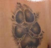 dog paw tattoo - Bing Images