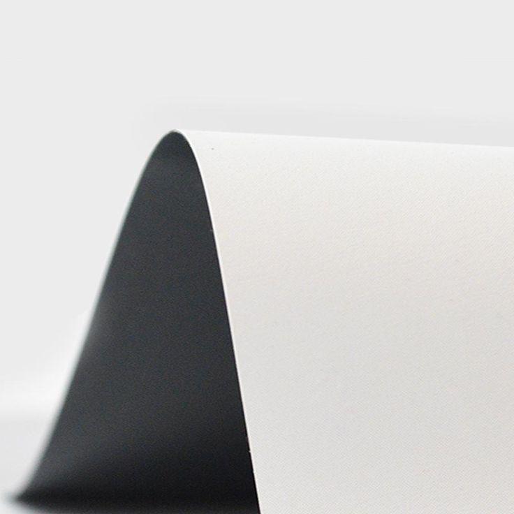 QualGear® QG-PS-FF6-169-120-W 16:9 Projector Screen FABRIC ONLY, 120-Inch 4K HD Ultra White 1.2 Gain