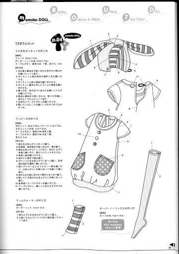 Moldes Revista Japonesa - Patitos De Goma - Picasa Web Albums