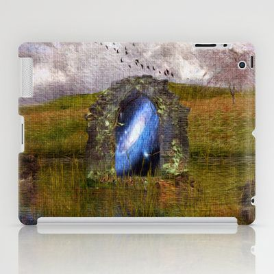 The arch of the universe iPad Case by Oscar Tello Muñoz - $60.00