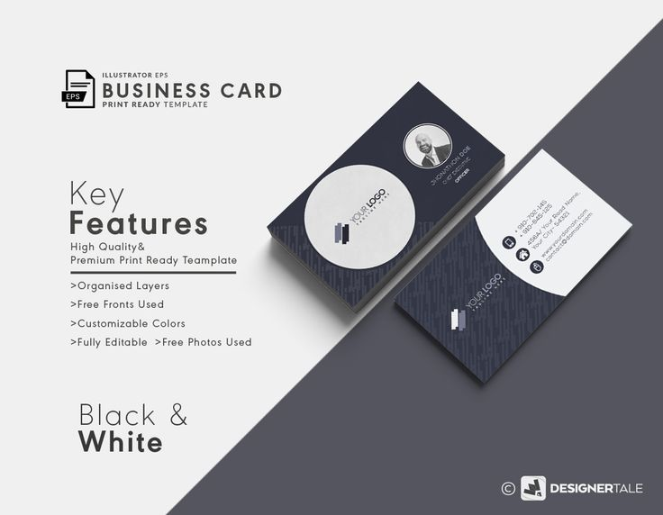 13 best Business Card Templates | Free vector & PSD print ready ...