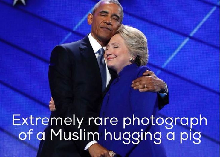 THE FAMOUS OBAMA HILLARY HUG - WHAT IT REALLY SAYS!