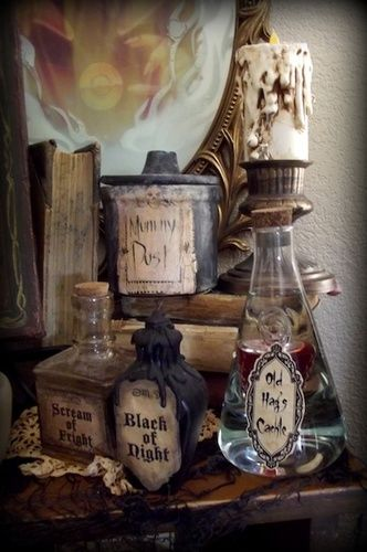 Snow White Evil Queen Disguise Potions
