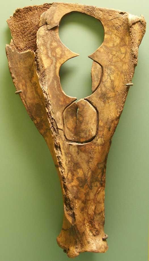 Tools made from aurochs bones - National Museum of Denmark