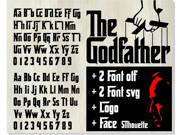Pin By Vasiliy On Hot Fonts Fonts For Mac Font Graphic The Godfather